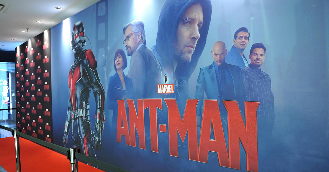 Walt Disney - AntMan Toronto Premiere - 10' x 30' Seamless Fabric Backdrop