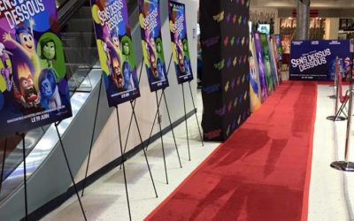 Personalized Red Carpet Backdrop